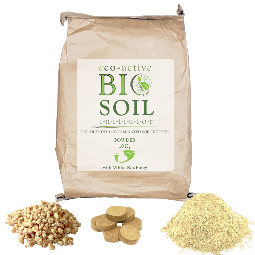Eco active biosoil is contaminated soil treatment that uses soil bioremediation. Product by Dekker Biotech, George, Cape Town, Port Elizabeth, George, Cape Town, Port Elizabeth, Western Cape, South Africa