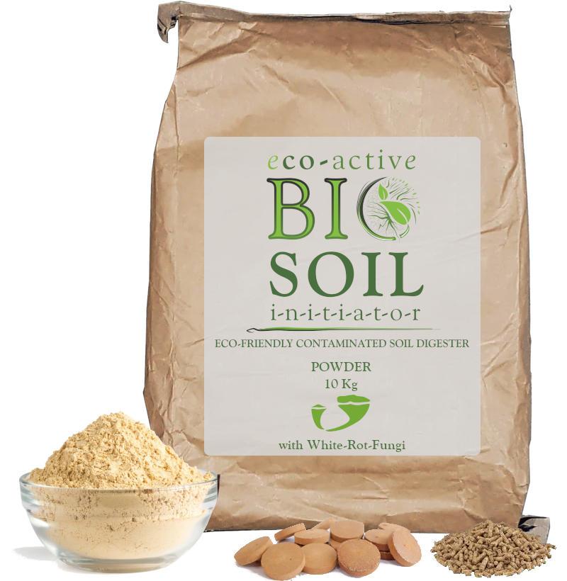 Eco active biosoil is contaminated soil treatment that uses soil bioremediation. Product by Dekker Biotech, George, Cape Town, Port Elizabeth, George, Cape Town, Port Elizabeth, Western Cape, South Africa
