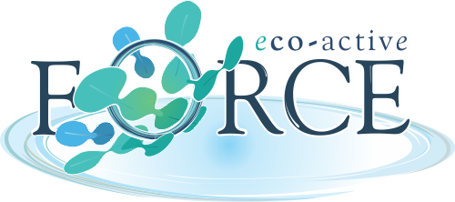 Biological product, Eco-active Force industrial laundry detergent logo - wastewater treatment company, Dekker Biotech, South Africa