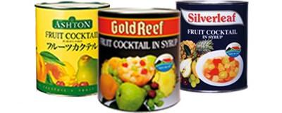 The Langeberg & Ashton canned fruit products