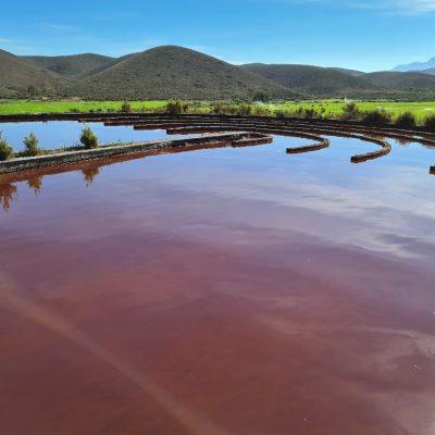 The High Rate Algal Pond utilises sun energy for natural algae to produce oxygen for COD breakdown.