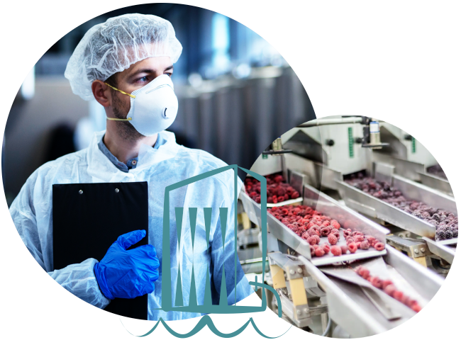Sustainable process water recovery for fruit processing businesses